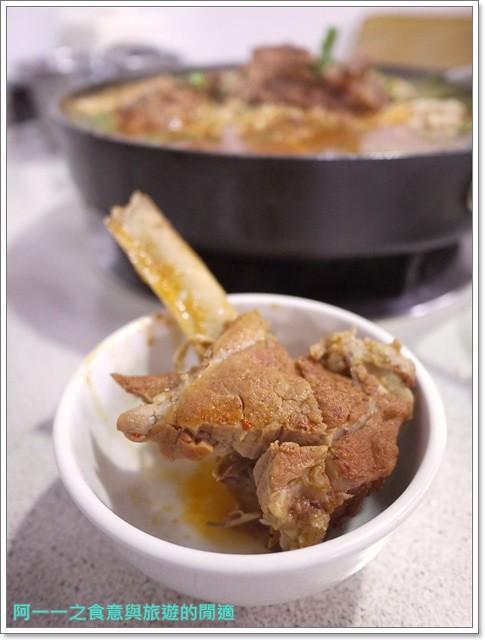 捷運行天宮站美食韓劇韓式料理東輝韓食館土豆豬骨湯銅板烤肉image034