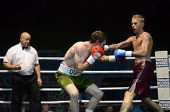 Tom Duff v Jamie Gelder boxing in Whitchurch (sophie_merlo) Tags: boxing tomduff jamiegelder