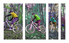 Colourful Cornering (benjamin.seeley) Tags: bike sport coursework onyerbike
