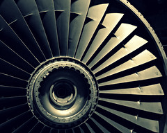 Jet [Explored] (Nomis.) Tags: green industry monochrome museum vintage manchester lumix mono energy power crossprocess jet engine science panasonic explore crop turbine mosi museumofscienceandindustry museumofscienceindustry explored autoadjust lx3 crossprocessgreen picmonkey autoadjusteffect 011minimoduleam414