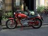 An old motorbike in Tokyo