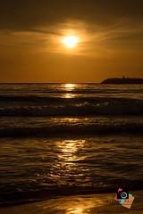 Farewell to Summer (Nabiha Hajaig) Tags: ocean sunset sea summer lebanon nature landscape photography beirut canon7d