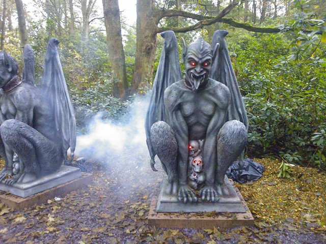 Haunted Hollow - New themeing for 2014