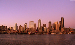 "Seattle Skyline at Sunset • <a style=""font-size:0.8em;"" href=""http://www.flickr.com/photos/34843984@N07/15546290762/"" target=""_blank"">View on Flickr</a>"
