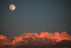 Atmos [Explore #37 16-10-2014] (ChrisBrn) Tags: sky moon clouds dusk