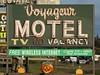 Voyageur Motel (altfelix11) Tags: halloween minnesota pumpkin jackolantern motel northshore neonsign twoharbors novacancy motelsign vintagesign highway61 vintageneonsign vintagemotelsign usroute61