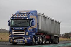 W S Macarthur Dyke Forres Scania R480 SV07 CSY (Kilmachalmag) Tags: trucks a9 lorries rossshire lorrys alness alnesspoint