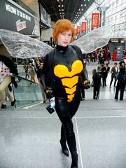 P1120362 (Randsom) Tags: nyc newyorkcity newyork costume wasp cosplay convention heroine superhero comicbooks marvel marvelcomics avengers javits 2014 nycc superheroine newyorkcomiccon october2014 nycc2014 newyorkcomiccon2014