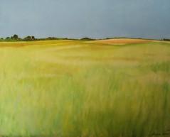 Hagelands Landschap (Desir Vermeulen) Tags: heimat flanders olieverfschilderij belgischekunst vlaamselandschappen flandersart olieophout