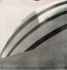 Goog (davebias) Tags: nyc polaroid sx70 guggenheim impossible polaroidweek