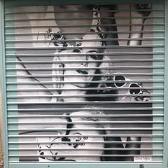 Graffed shutters for a 👓 store... (ijustdontknow-streetart) Tags: leoetpipo uploaded:by=flickstagram instagram:venuename=ruenotredamedenazareth2cparis instagram:venue=44086 instagram:photo=784438300469704148383404