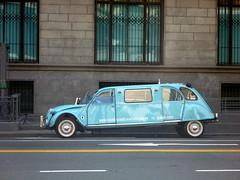 2CV limousine (benontherun.com) Tags: auto argentina argentine car buenosaires voiture limo coche 2cv limousine