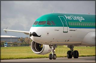 EI-DES Airbus A320-214 Aer Lingus (Movember)