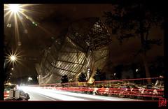Fondation Louis Vuitton 25/10/2014 - Nocturne 6/7 (mamnic47 - Over 6 millions views.Thks!) Tags: paris frankgehry nocturne bernardarnault img8296 fondationlouisvuittonpourlacration fondationlouisvuitton paris16me fisheyesamyang8mm architectefrankgehry 25102014