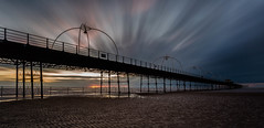 October skies (tolle13) Tags: sunset seascape canon pier 1740mm southport 10stop jedpearson tolle13