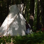 """Nathaniel and the Tee Pee <a style=""""margin-left:10px; font-size:0.8em;"""" href=""""http://www.flickr.com/photos/35265395@N07/15624557571/"""" target=""""_blank"""">@flickr</a>"""