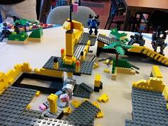 Seattle MoF0's Oct2014 - Mid game (dark_syntax) Tags: lego mecha mech moc microscale mechaton mfz mf0 mobileframezero