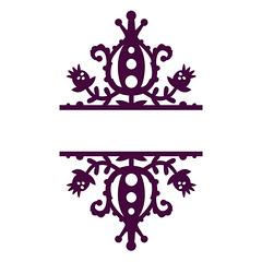 split-damask1 (emily dyer) Tags: silhouette svg papercut diecut