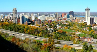 Great Lakes City .... Skyline Of Downtown Hamilton, Ontario