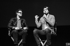 Mitchell and Olan (Stephanie Macas) Tags: cinema toronto canada festival theater bell theatre rogers mitchell davis tiff videos scotiabank lightbox buffer 2014 olan youtube