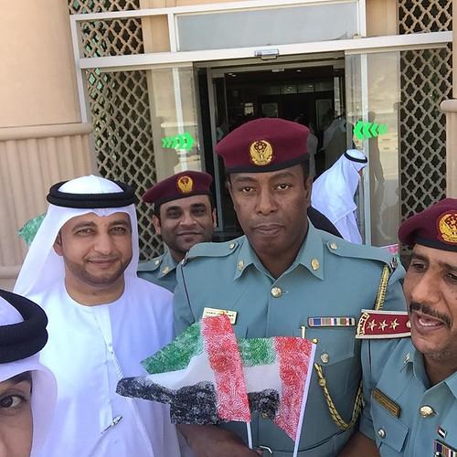 دار القضاء - #Selfiewithflag ❤️❤️❤️ #سيلفي_ويا_العلم @sharjah_tv    @moj_uae #ذخرنا_خليفة #يوم_العلم 👋