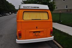 Happy Camper (Triborough) Tags: nyc newyorkcity ny newyork car vw volkswagen van statenisland camper type2 richmondcounty  emersonhill
