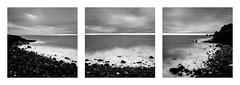 Dark cap (Mathieu Calvet) Tags: pentax k3 da1224 bw106 ndfilter triptyque triptych nb noiretblanc blackandwhite mer sea poselongue longexposure capdagde agde languedocroussillon hrault occitanie