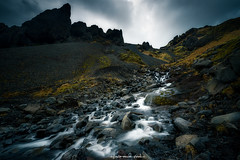 Water movement (ALFONSO1979 ) Tags: water landscape paisajes travel rocks mountains iceland watermovemen