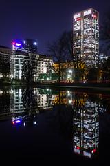 FFM (felix fabian) Tags: frankfurt bulidung lake nightshot architecture lights luminale
