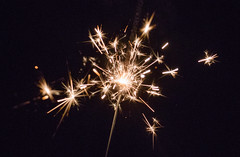 Sparks (PatrickJamesB) Tags: night time dark low light black evening midnight nightfall spark sparkler bright sharp pointy firework fireworks 80d canon dslr