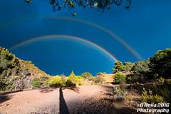 Rainbow (dneila) Tags: ulldemolins arcoiris    sky cielo rainbow light