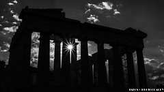 Partenn, B&W, Greece. (TALOS300) Tags: sonya6000 sonyilce6000 sonyalpha6000 blancoynegro blackandwhite bw sun sol monocromo silueta grecia greece atenas athens