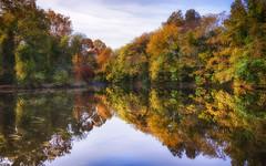 Beautiful Autumn (Steve Byrne's Pics) Tags: landscape color autumn hdr leebigstopper flickrfriday autumnleaves