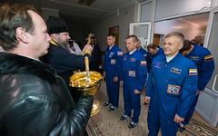 Expedition 46 Preflight (NHQ201610190033) (NASA HQ PHOTO) Tags: shanekimbrough baikonur russianorthodoxpriest expedition49 kazakhstan russianfederalspaceagencyroscosmos sergeyryzhikov andreyborisenko cosmonauthotel expedition49preflight baikonurcosmodrome kaz nasa joelkowsky