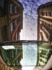 My daily Reflection, today Madrid reflected on a car... Good night! . #HuaweiP9 #Snapseed #TadaaSLR (luisonrh) Tags: digital documentary reflection reflectionphotography car street streetphoto mobile mobilephotography iphoneography shotoniphone6s madrid