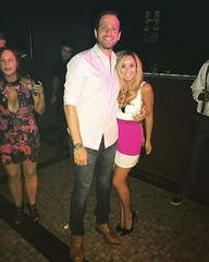 Eli and his fiance Gel ready for a night out on the town in #Vegas! Like this photo if you agree that they make a great couple.  #olninc #engaged #vegasvacation #lasvegas (oln_inc) Tags: oln inc carson ca los angeles