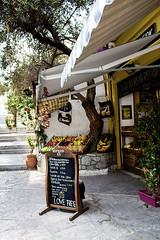 Plaka Athens Greece (chariots_rise) Tags: greece plaka athens travel vacation europe fruitstand