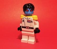 Grand Admiral Thrawn (Supremedalekdunn) Tags: lego star wars grand admiral thrawn galactic empire imperial navy