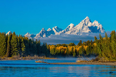 Snake River and the Tetons (4x5 photos) Tags: mountains nationalpark river tetons water wyoming