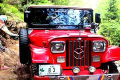 Hikers Jeep (meetusman_u2) Tags: hikers jeep red car fancy off roader
