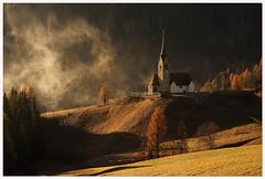 When the sun rises the earth breathes (aviana2) Tags: saurisdisopra italy stlorenz sunrise morning landscape aviana2 sonya7 church fotocompetitionbronze