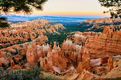Pause (KPortin) Tags: brycecanyonnationalpark canyon hoodoos geology landscape sunset trail