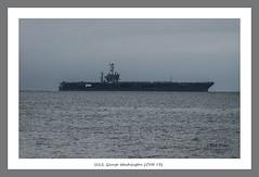 U.S.S. George Washington (CVN 73) (White Balance Imaging Photography) Tags: beachocean fallautum nature norfolk oceanview places seasons virginia weather