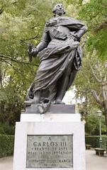 Carlos III - Madrid (rschnaible) Tags: madrid spain espana europe tour tourist sightseeing outdoor statue monument carlos iii