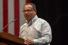 Keith Ellison, U.S. House of Representatives from Minnesota's 5th district (Lorie Shaull) Tags: keithellison dnc hillaryformn minnesota houseofrepresentatives 5thdistrict