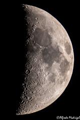 X LUNAR (Alfredo Madrigal) Tags: moon x lunar luna astronomy astrofotografa astronoma astrophotography astrofoto astrofotografia astronomia nikon night