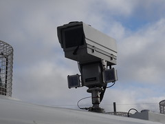 Seimens CCTV Camera (nathanlawrence785) Tags: psni police service northern ireland ni land rover pangolin ovik penman engineering ruc tangi alr mk4 belfast bankmore street donegal pass patrol tsg tactical support group riot van meat wagon antrim steeple parkhall camp barracks base cctv camera unit the troubles