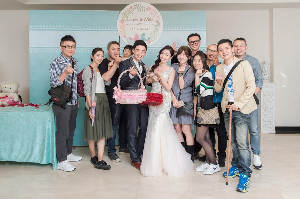 台南婚攝 婚禮紀錄 情定婚宴城堡 C & M 181