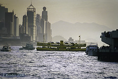 Star Ferry Between Hong Kong Island and Kowloon (Greatest Paka Photography) Tags: hongkong kowloon ferry china harbor boat water starferry victoriaharbor island crossing travel southchinasea sea transport