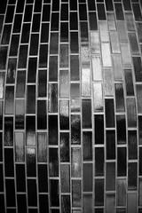 Bulging (^Diana^) Tags: 888a brickwall bulging bulge pressure light abastract melbourne brick wall blackandwhite